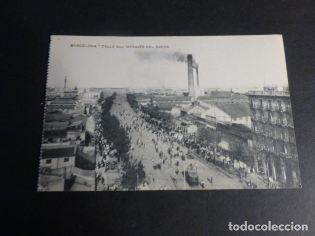 BARCELONA CALLE DEL MARQUES DE DUERO (Postales - España - Cataluña Antigua (hasta 1939))