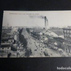 Postales: BARCELONA CALLE DEL MARQUES DE DUERO. Lote 172057494