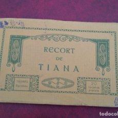 Postales: BLOCK COMPLETO 20 POSTALES. RECORT DE TIANA. THOMAS BARCELONA. . Lote 172306135