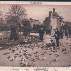 Postales: POSTAL BARCELONA - PARQUE - ROISIN - CIRCULADA. Lote 172479324