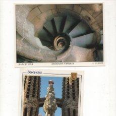 Postales: 2 POSTALES DE BARCELONA-SIN CIRCULAR-. Lote 172577677