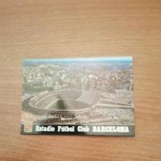 Postales: POSTAL BARCELONA ESTADI F.C. BARCELONA VISTA AEREA SIN CIRCULAR. Lote 172600898