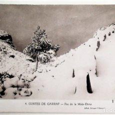 Postais: COSTES DE GARRAF. 4 PAS DE LA MALA-DONACLIXÉ ARTIGAS-VILANOVA. NUEVA. BLANCO/NEGRO. Lote 172975109