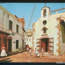 Postales: TOSSA DE MAR. *BLANCA ERMITA EN EL CENTRO DE LA VILLA* ED. J. UBACH PUIG Nº 488. NUEVA.. Lote 173272199