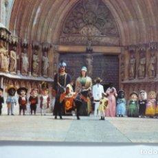 Postales: POSTAL TARRAGONA - COMPARSA GIGANTES T CABEZUDOS. Lote 173353627