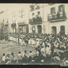 Postales: LLORET DE MAR. FOTO ANÓNIMA. CIRCULADA 1916.. Lote 2766867