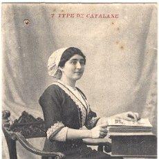 Postales: TYPE DE CATALANE. Lote 173844415