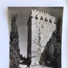 Cartes Postales: TARRAGONA. POSTAL SERIE I, NO.814, ESTATUA DE AUGUSTO Y TORRE PABORDE. EDITA: FOTOSA. CAMPAÑA.... Lote 173999750