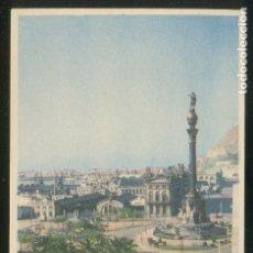 Postales: BARCELONA. *MONUMENTO Y PASEO DE COLÓN* ED. ARCHIVO ARTE SERIE C Nº 101. NUEVA.. Lote 3609603