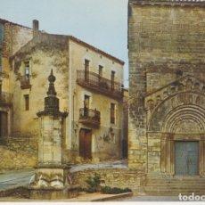 Postales: POSTAL VALLBONA DE LAS MONJAS (LLEIDA) PLAÇA MAJOR. Lote 174080833
