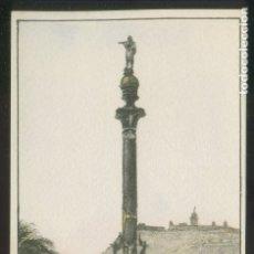 Postales: BARCELONA. *MONUMENTO A COLÓN* ED. S.I.D.E. S.A. SERIE C59 Nº 8. NUEVA.. Lote 9016193