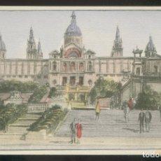 Postales: BARCELONA. *PALACIO NACIONAL. EXPOSICIÓN* EDC. S.I.D.E. S.A. SERIE C59 Nº 2. NUEVA.. Lote 9016215