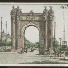 Postales: BARCELONA. *ARCO DEL TRIUNFO* ED. S.I.D.E. S.A. SERIE C59 Nº 6. NUEVA.. Lote 9016248