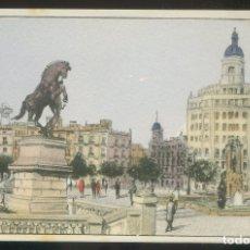 Postales: BARCELONA. *PLAZA DE CATALUÑA* ED. S.I.D.E. S.A. SERIE C59 Nº 9. NUEVA.. Lote 9016266