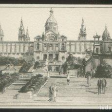 Postales: BARCELONA. *PASEO NACIONAL. EXPOSICIÓN* ED. S.I.D.E. S.A. SERIE C59 Nº 2. NUEVA.. Lote 9016321