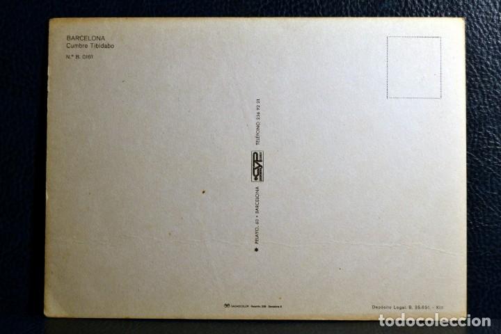 Postales: CUMBRE TIBIDABO - BARCELONA - B. 0161 - CyP - Foto 2 - 174247023