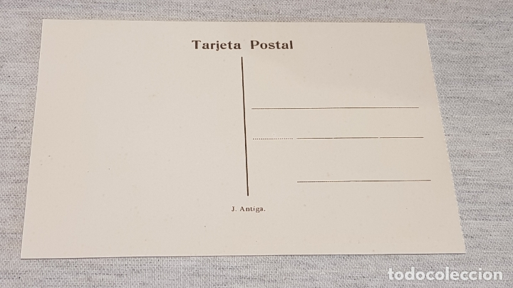 Postales: OLOT - 3 / ARRIBADA A LES FONTS DE SANT ROCH / EDIT: J. ANTIGA / SIN CIRCULAR. DE LUJO. - Foto 2 - 174329558
