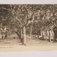 Postales: OLOT - 4 / PASSEIG DE BLAY / EDIT: J. ANTIGA / SIN CIRCULAR. DE LUJO.. Lote 174329894