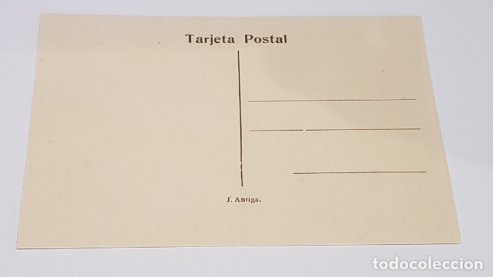 Postales: OLOT - 8 / FONT DE LA MUXINA / EDIT: J. ANTIGA / SIN CIRCULAR. DE LUJO. - Foto 2 - 174330563