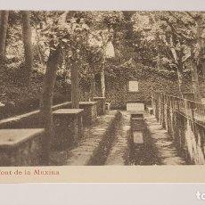 Postales: OLOT - 8 / FONT DE LA MUXINA / EDIT: J. ANTIGA / SIN CIRCULAR. DE LUJO.. Lote 174330563