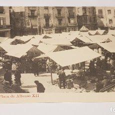 Postales: OLOT - 10 / PLAÇA DE ALFONSO XII / EDIT: J. ANTIGA / SIN CIRCULAR. DE LUJO.. Lote 174330915