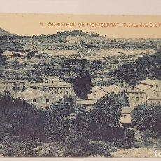 Postales: MONISTROL DE MONTSERRAT - 11 / FÁBRICA DEL SRS. PUIG I FONT / EDIT: ALFARA / SIN CIRCULAR.. Lote 174373892