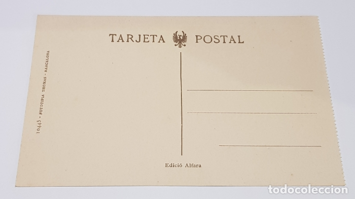 Postales: MONISTROL DE MONTSERRAT - 7 / CARRER DE VISERTA . CASA DEL SR. JUNCÀ / EDIT: ALFARA / SIN CIRCULAR. - Foto 2 - 174374757