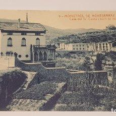 Postales: MONISTROL DE MONTSERRAT - 6 / CASA SR. COMA I BARRI STA. ANNA / EDIT: ALFARA / SIN CIRCULAR.. Lote 174374938