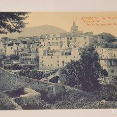 Postales: MONISTROL DE MONTSERRAT - 2 / VISTA PARCIAL DES DE LA CARRETERA / EDIT: ALFARA / SIN CIRCULAR.. Lote 174375818