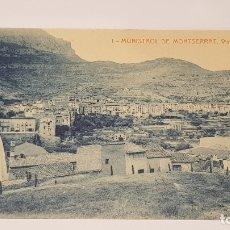 Postales: MONISTROL DE MONTSERRAT - 1 / VISTA GENERAL / EDIT: ALFARA / SIN CIRCULAR.. Lote 174375952