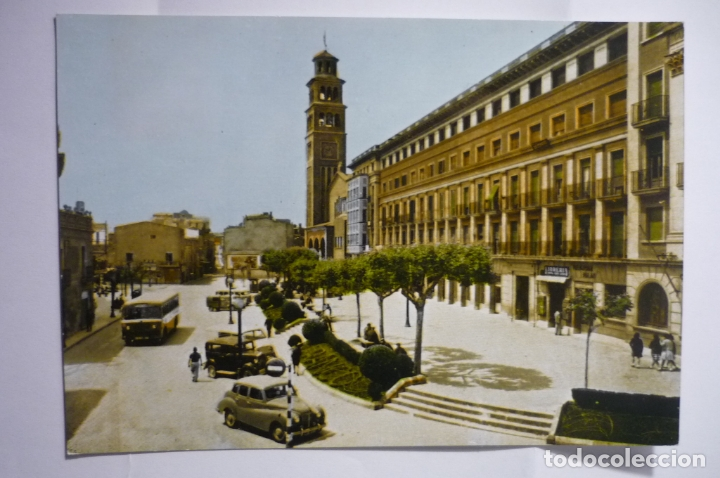 POSTAL HOSPITALET LLOBREGAT .-PL.AYUNTAMIENTO ESCRITA CM (Postales - España - Cataluña Moderna (desde 1940))