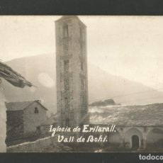 Postales: VALL DE BOHI-ESGLESIA DE ERILARALL-POSTAL FOTOGRAFICA-VER REVERSO-(61.637). Lote 174412892