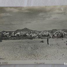 Postales: ANTIGUA POSTAL.VISTA PARCIAL.MORA DE EBRO.TARRAGONA.FOTO CREVILLENT. Lote 174413018