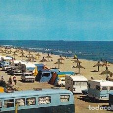 Postais: BARCELONA GAVA PLAYA Y CAMPING ED. ESCUDO DE ORO Nº 2463 AÑO 1965. Lote 174590163