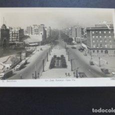 Postales: BARCELONA AV. JOSE ANTONIO GRAN VIA. Lote 174962415