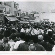 Postales: CALAFELL-BAILES TÍPICOS-PLAZA-AÑO 1964-FOTOGRÁFICA MUY RARA. Lote 175179422