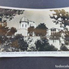 Postales: LA NOU BARCELONA SANTUARI DE NTRA SRA DE LOURDES. Lote 175258862