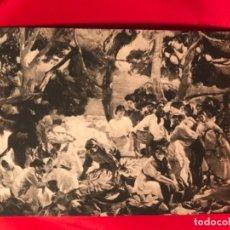 Postales: CATALUÑA POSTAL CATALUNYA EL PESCADO JOAQUIN SOROLLA PROVINCES OF SPAIN HISPANIC SOCIETY AMERICA. Lote 175720020
