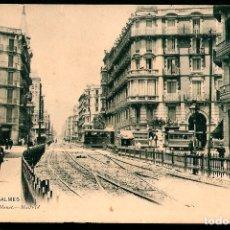 Postales: TARJETA POSTAL,BARCELONA: CALLE DE BALMES./ HAUSER Y MENET 931./ PRINCIPIOS S.XX.. Lote 175722533
