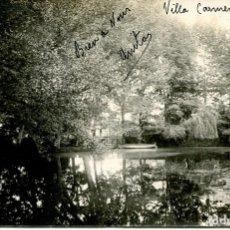 Postales: VICH- VILLA CARMEN LAGO Y BARCA-SANTA EUGENIA DE BERGA- FOTOGRÁFICA- MUY RARA ÚNICA. Lote 175833923