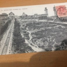 Postales: BARCELONA CUMBRE DEL TIBIDABO. Lote 175896242