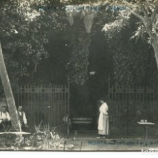 Postales: BARCELONA-HORTA-FONT DEN FARGAS-FOTOGRÁFICA -MUY RARA. Lote 175900205
