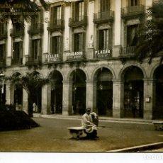 Postales: BARCELONA PLAZA REAL-ALMACENES SUCESOR DE E. BOSSI- LB (BARTRINA)-FOTOGRÁFICA. Lote 175972765