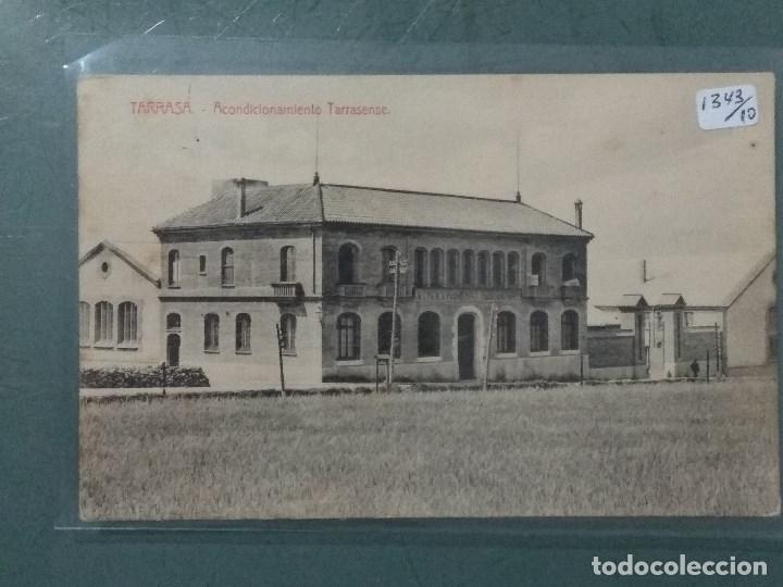 POSTAL TARRASA ACONDICIONAMIENTO TARRASENSE (Postales - España - Cataluña Antigua (hasta 1939))