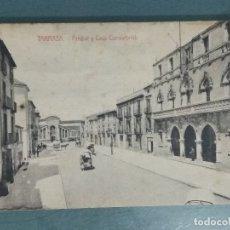 Postales: POSTAL TARRASA ARRABAL Y CASA CONSISTORIAL.. Lote 176213983