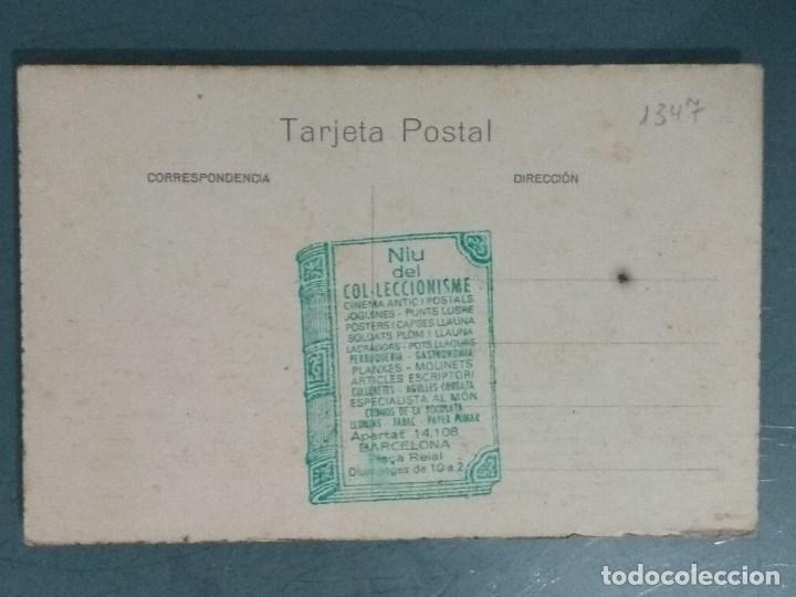 Postales: POSTAL TARRASA ARRABAL Y CASA CONSISTORIAL. - Foto 2 - 176213983