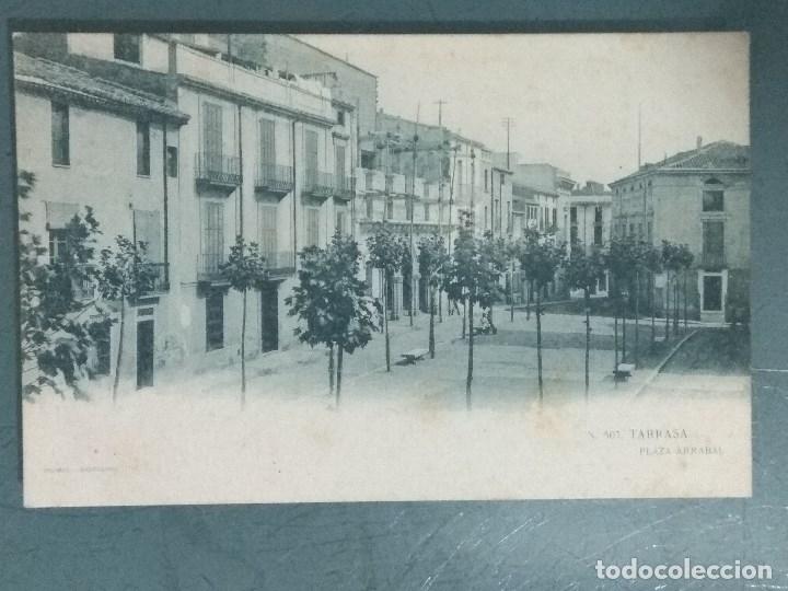 POSTAL TARRASA - PLAZA ARRABAL. THOMAS. (Postales - España - Cataluña Antigua (hasta 1939))