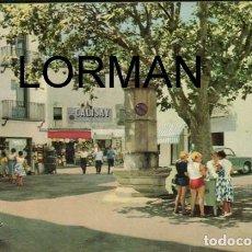 Postales: TOSSA DE MAR BLOC DE POSTALES FORMATO ACORDEON CON 9 UNIDADES J. UBACH PUIG AÑOS 60. Lote 176220727