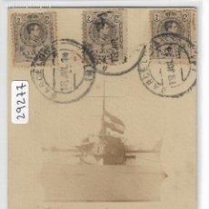Postales: BARCELONA - PORT - BUQUE DE GUERRA - P29277. Lote 176258402