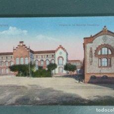 Postales: POSTAL TARRASA TALLERES DE LAS ESCUELAS INDUSTRIALES.. Lote 176295595